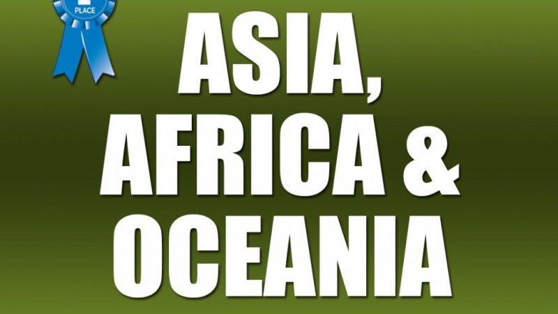 Asia, Africa, Oceania
