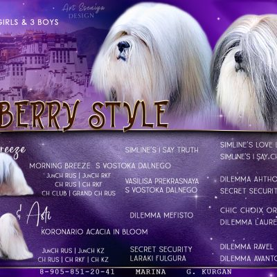 Kennel BLUEBERRY STYLE
